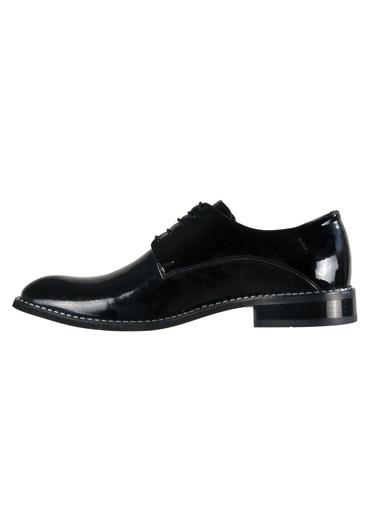 Luciano Bellini Hakiki Deri 153103 Siyah Erkek Klasik Ayakkabı Siyah